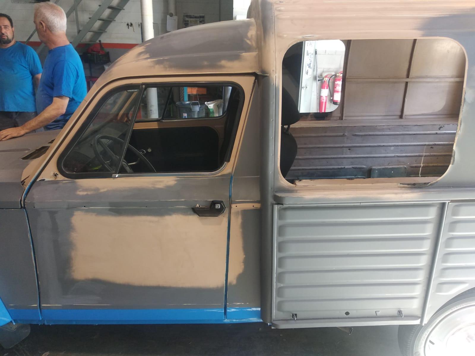 Restauración de coche diane 6